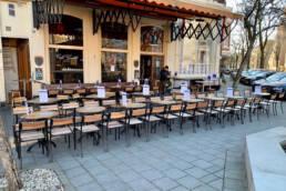 Cafe Gruter Amsterdam Zuid terras
