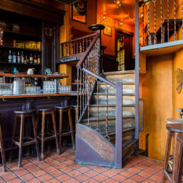 Cafe Gruter Amsterdam bovenverdieping