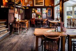 Cafe Gruter Amsterdam Zuid bruin cafe