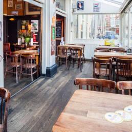 Cafe Gruter Amsterdam Zuid serre